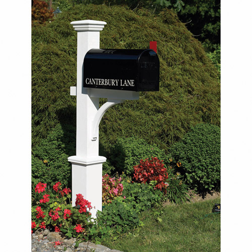 Lazy Hill Farm Designs Canterbury Mailbox Post by Good Directions