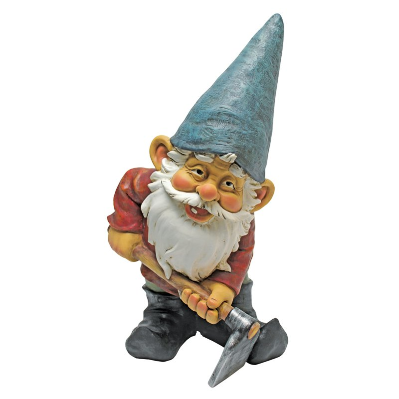 Design Toscano Bulldoze the Garden Gnome Statue by Design Toscano