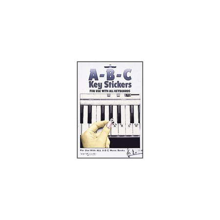 - Hal Leonard Abc Keyboard Stickers