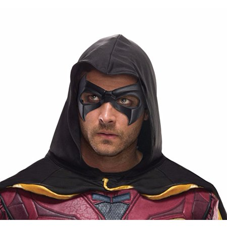 DC Batman Arkham Adult Robin Eye Mask (Batman And Robin Masks)