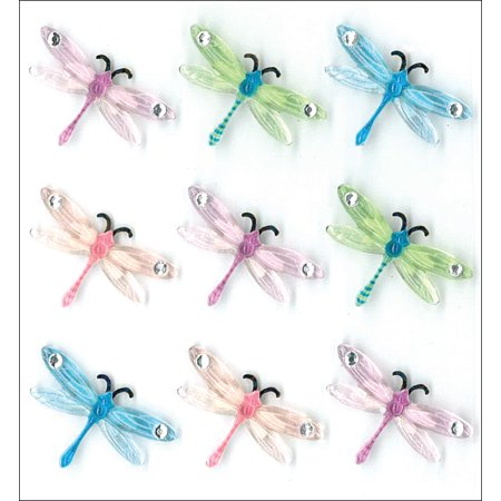 Jolee's Boutique Dimensional Stickers-Dragonflies - Dragonfly Boutique