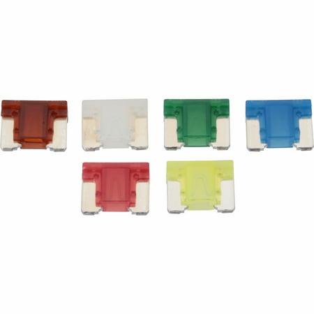 Bussmann® Mini Fuses 6 pc Carded Pack