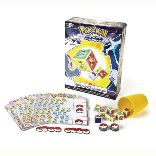 Pokemon On A Roll Game by Pressman Toy by