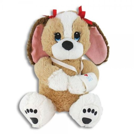 Melancholy Melanie, Adorable 10 Inch Get Well Plush Dog - Hospital Present for Girl or Woman - Cheer Up Feel Better Stuffed Puppy - Toys For Girls 10 And Up