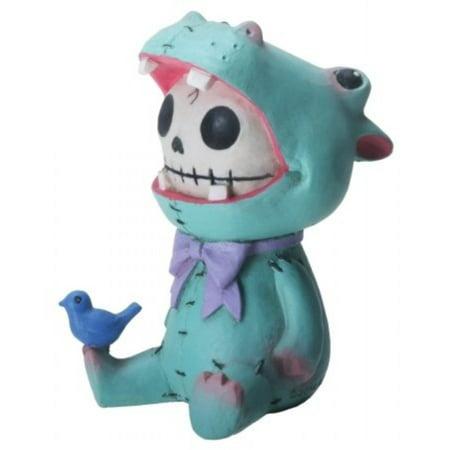 Furrybones Hippolito Skeleton in Hippopotamus Hippo Costume Figurine Statuette