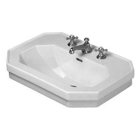 Duravit 1930 Series 438600087 Wall Mount Bathroom Sink