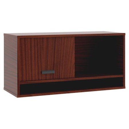 Basyx By Hon Manage Series Chestnut Office Furniture Collection   15 8  Width X 21  Depth X 22  Height   1 Door   Chestnut  Laminate  Mg36ovc1a1