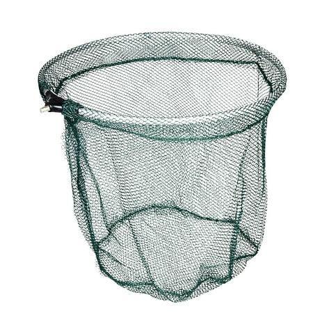 Unique bargains 13 8 39 39 x 15 7 39 39 nylon metal portable for Fishing nets walmart