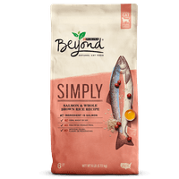 Purina Beyond Simply Salmon & Whole Brown Rice Recipe Adult Dry Cat Food - 6 lb. Bag