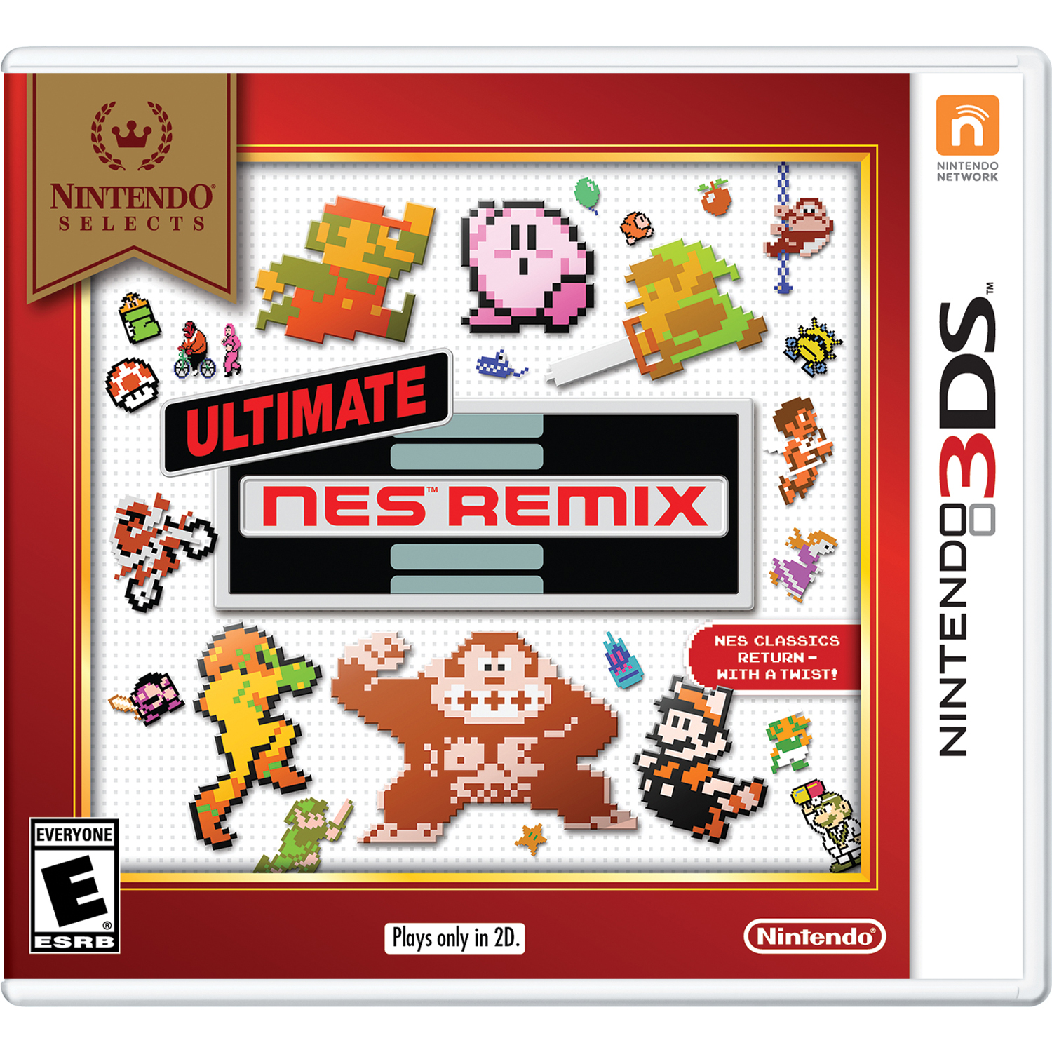 Ultimate NES Remix (Nintendo Selects), Nintendo, Nintendo 3DS, 045496744960