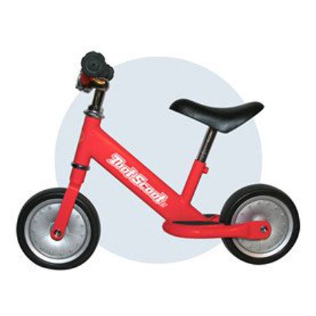 Toot Scoot Ii Balance Bike For Kids Bicycle Adjustable Seat