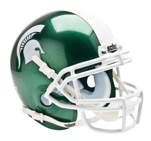 Shutt Sports NCAA Mini Helmet, Michigan State Spartans