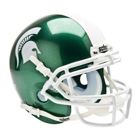 Shutt Sports NCAA Mini Helmet, Michigan State Spartans (Spartan Helmet)