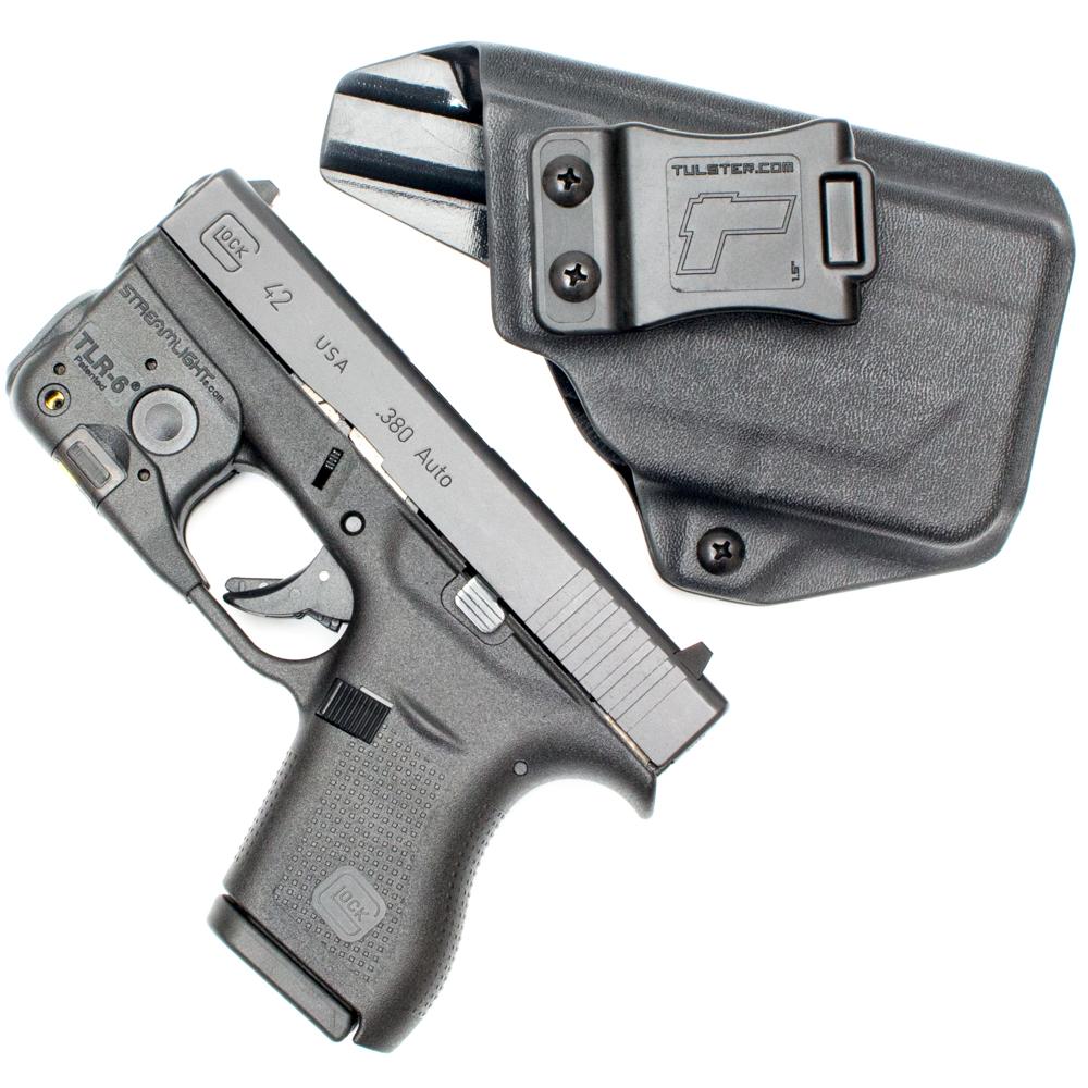 Glock 42 w/Streamlight TLR-6 - ProfileLB Holster - Left Hand
