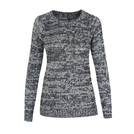 f3367604a Hot From Hollywood - Women s Crewneck Long Sleeve Solid Knit Pullover  Sweater Top - Walmart.com