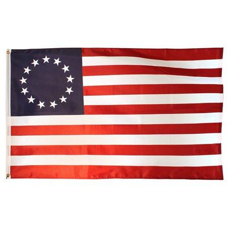 Betsy Ross 3Ft X 5Ft Super Stream Nylon Flag