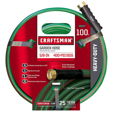 """Craftsman CM-IFHD-3 Heavy Duty 5/8"""" x 100' Garden Hose"""