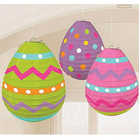 Easter Egg-Shaped Lanterns