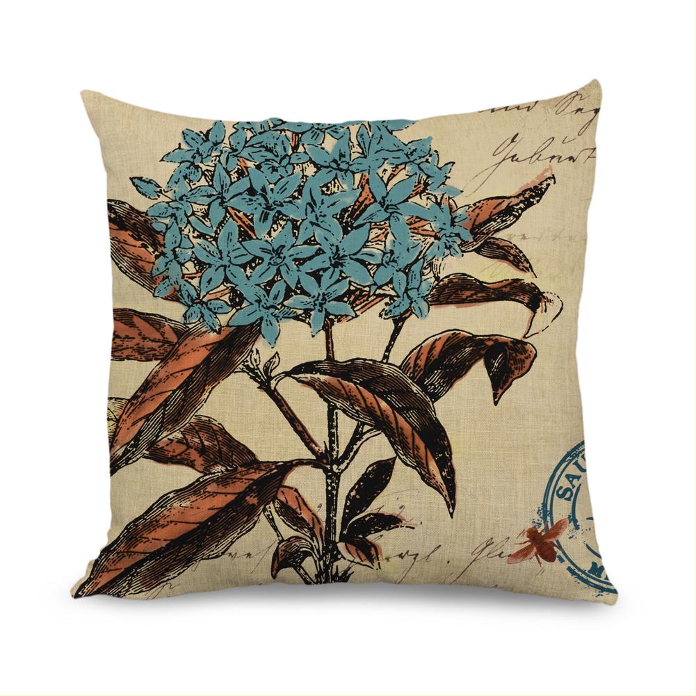 Popeven Fashion Aqua Blue Decorative Throw Pillow Case Home Decor by DreamstrueLLC