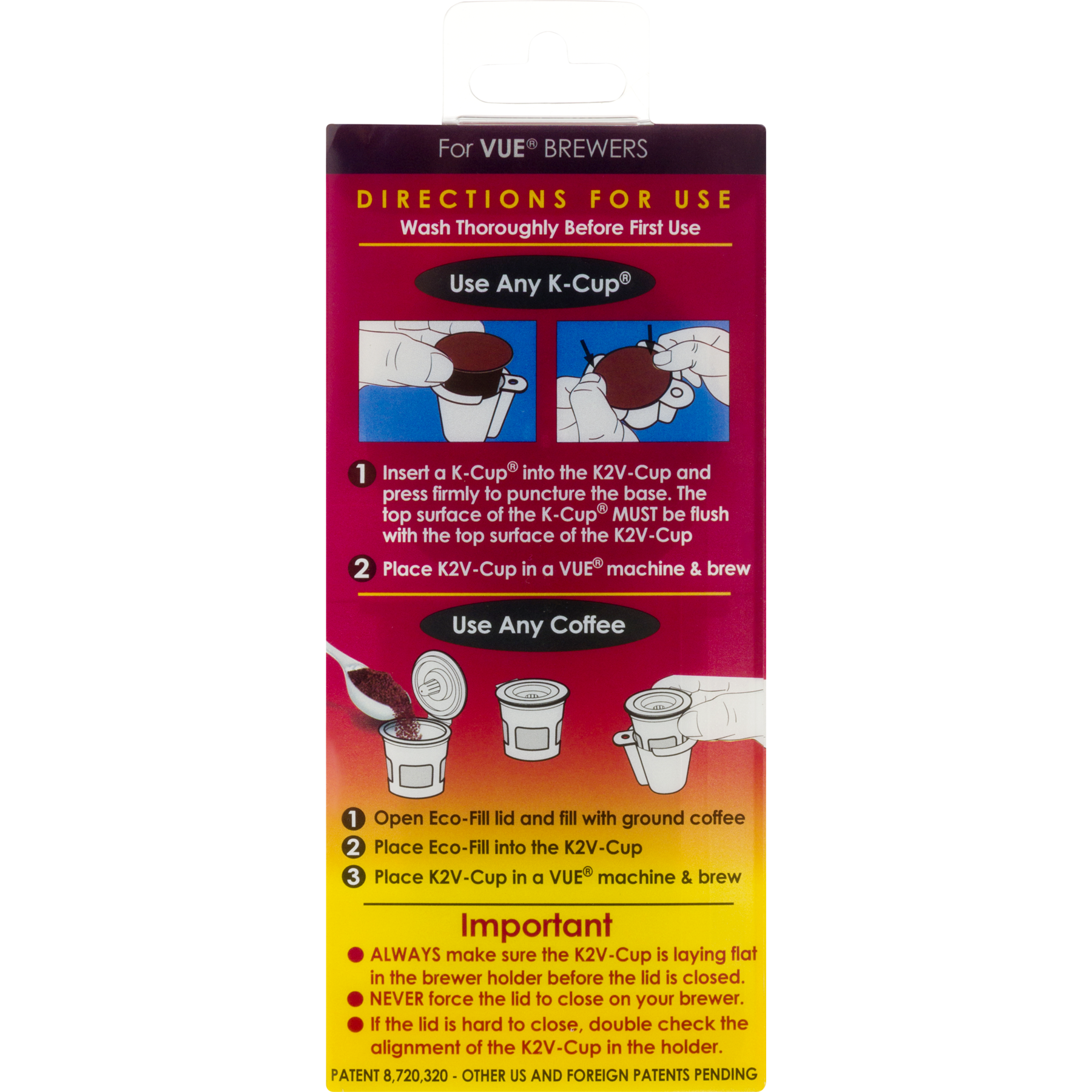 K2v Cup Single Serve Coffee Adapter 10 Ct Walmart