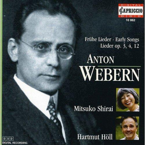 A. Webern - Webern: Early Songs, Op. 3, 4, 12 [CD]