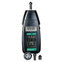 Extech 461891 Contact Tachometer, 0.5 to 19,999 rpm