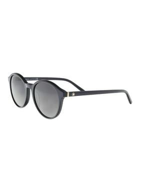 Montblanc MB505/S 92W Blue Round Sunglasses