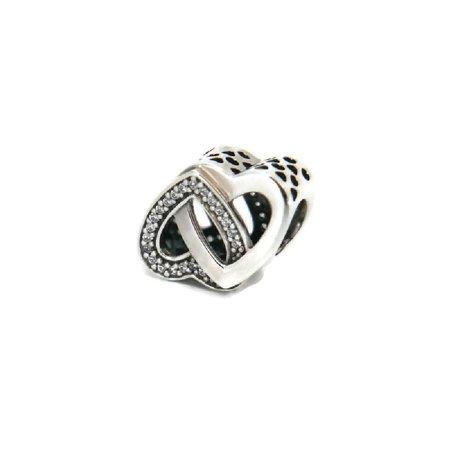 3b76396bb PANDORA - Authentic Entwined Love Charm 791880CZ - Walmart.com