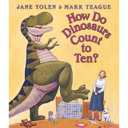 Kalmbach How To - How Do Dinosaurs Count to 10 (Board Book)