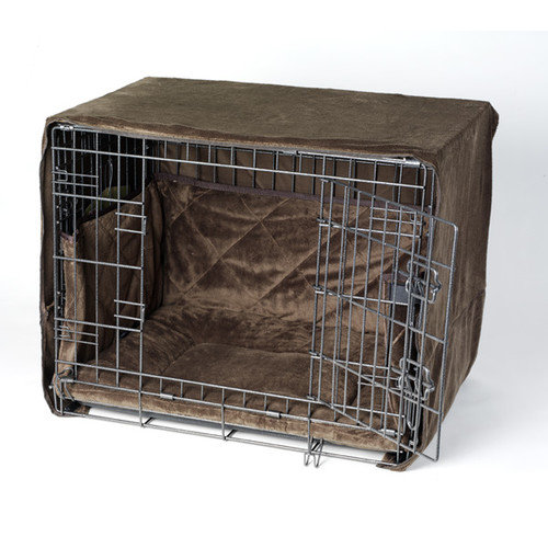 Pet Dreams Side-Door Cratewear 3 Piece Dog Bedding Set