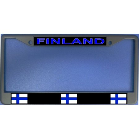 Finland Flag Photo License Plate Frame