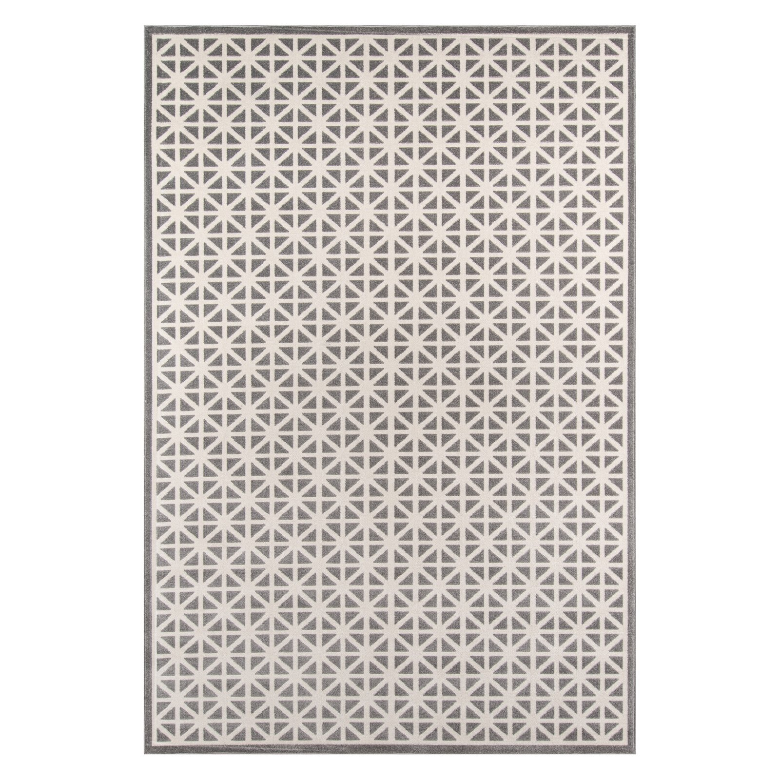Momeni Dakota Polypropylene Machine Made Grey Indoor Outdoor Rug 3 3