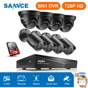 Best Dive Cameras - SANNCE 8CH 1080N DVR 8PCS 720P HD Security Review