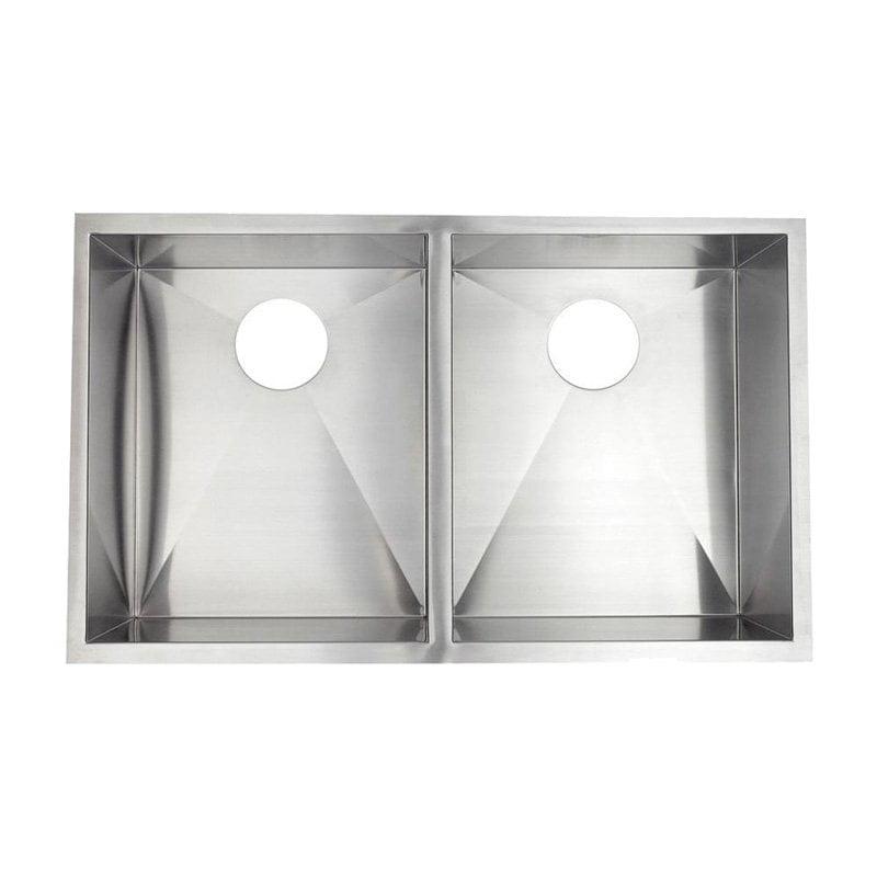 Pegasus ZR2033 Double Basin Undermount Kitchen Sink