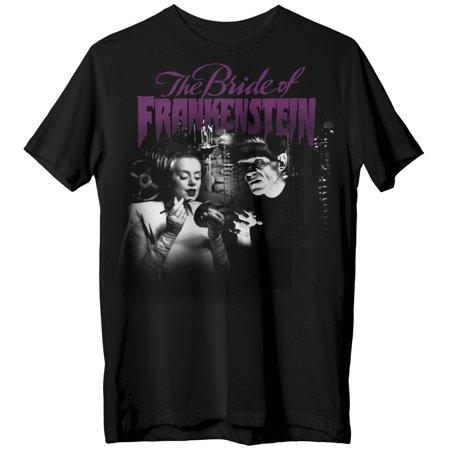 Bride of Frankenstein Men's Gets Ready T-Shirt - Frankenstein Jacket