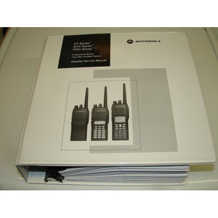 OEM Motorola 6881088C46 Detailed Service Manual for HT750