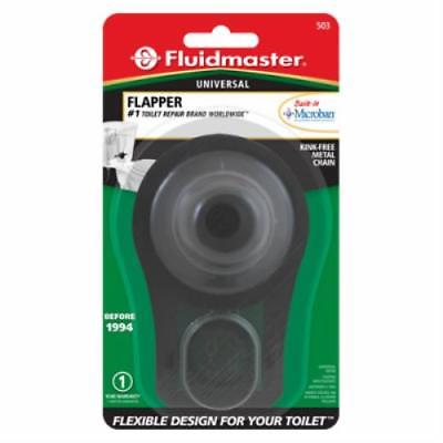 Black Sure Fit Toilet Flapper 4PK