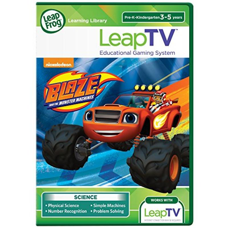 LeapFrog LeapTV Blaze and the Monster Machines Educational, Active Video Game by LeapFrog