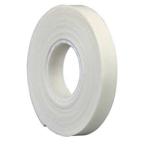 """3M 4462 3M 4462W Double Coated Foam Tape 0.5"""" x 5yd, White"""