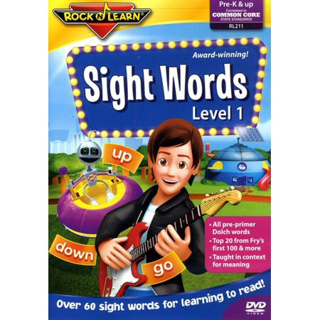 Rock N Learn: Sight Words Level 1 ()
