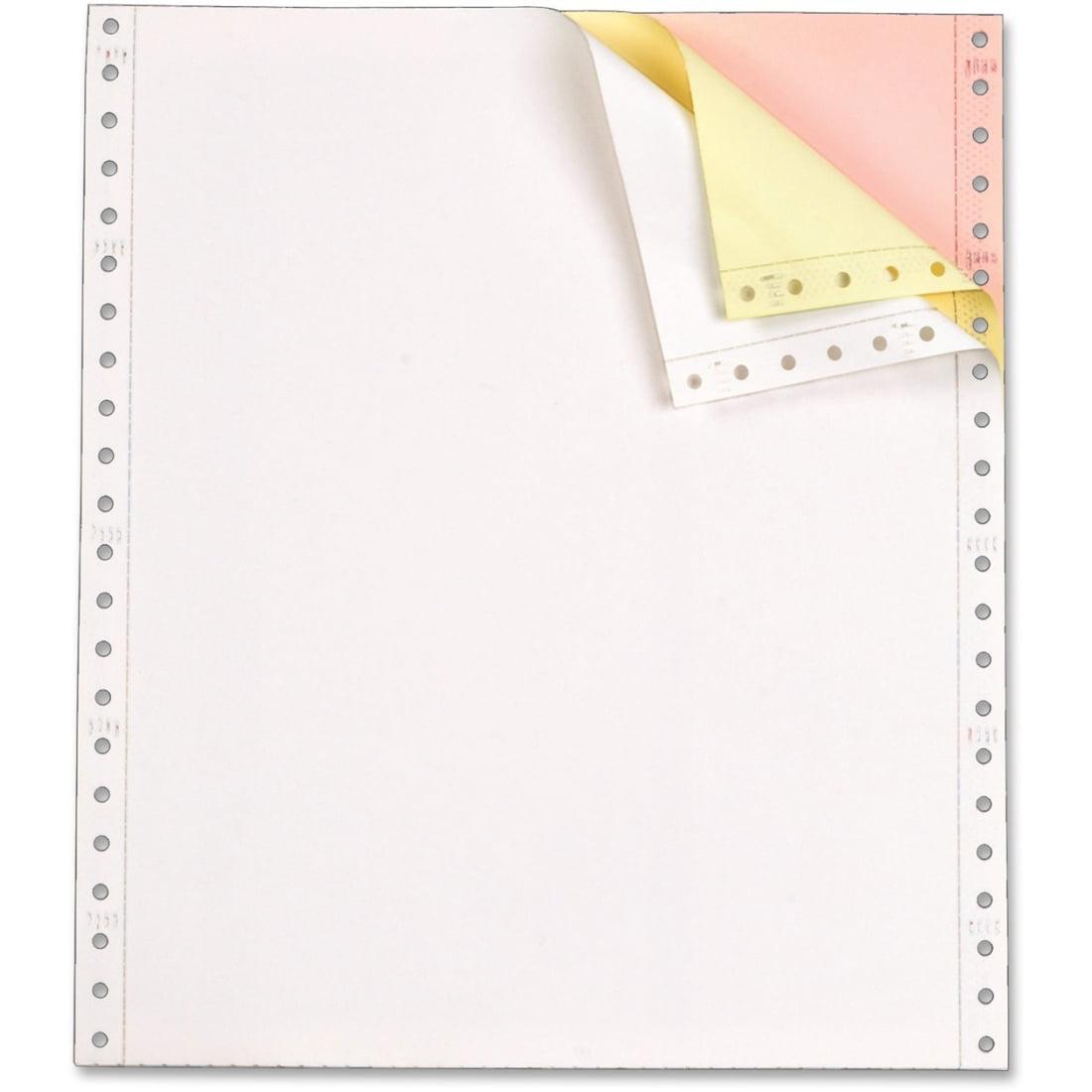 "Tops Continuous Paper - Letter - 8.50"" X 11"" - 15 Lb - 1100 / Carton - Yellow (TOP55179)"