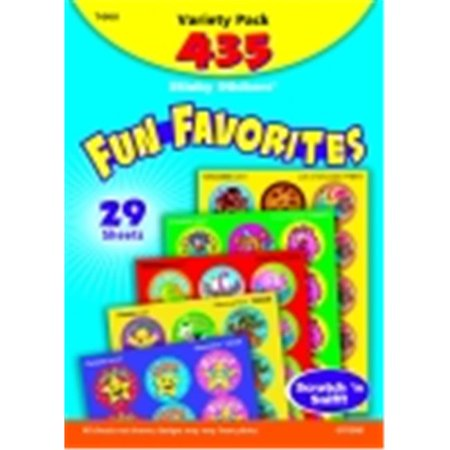 Trend Enterprises 1 in. Stinky Sticker Fun Favorites And Fancy Jumbo Pack Stinky Sticker, Pack 432
