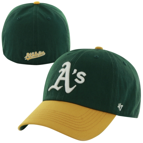 Oakland Athletics '47 Home Franchise Fitted Hat - Green