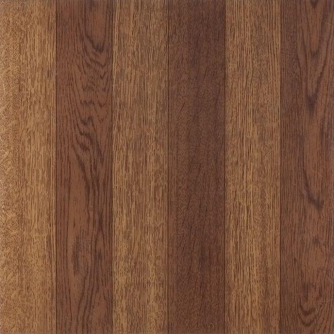 Achim Tivoli Medium Oak Plank-Look 12x12 Self Adhesive Vinyl Floor Tile - 45 Tiles/45 sq. Ft
