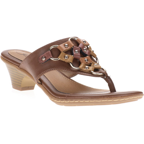Solos Women's Adair Colored Ring Thong Sandals