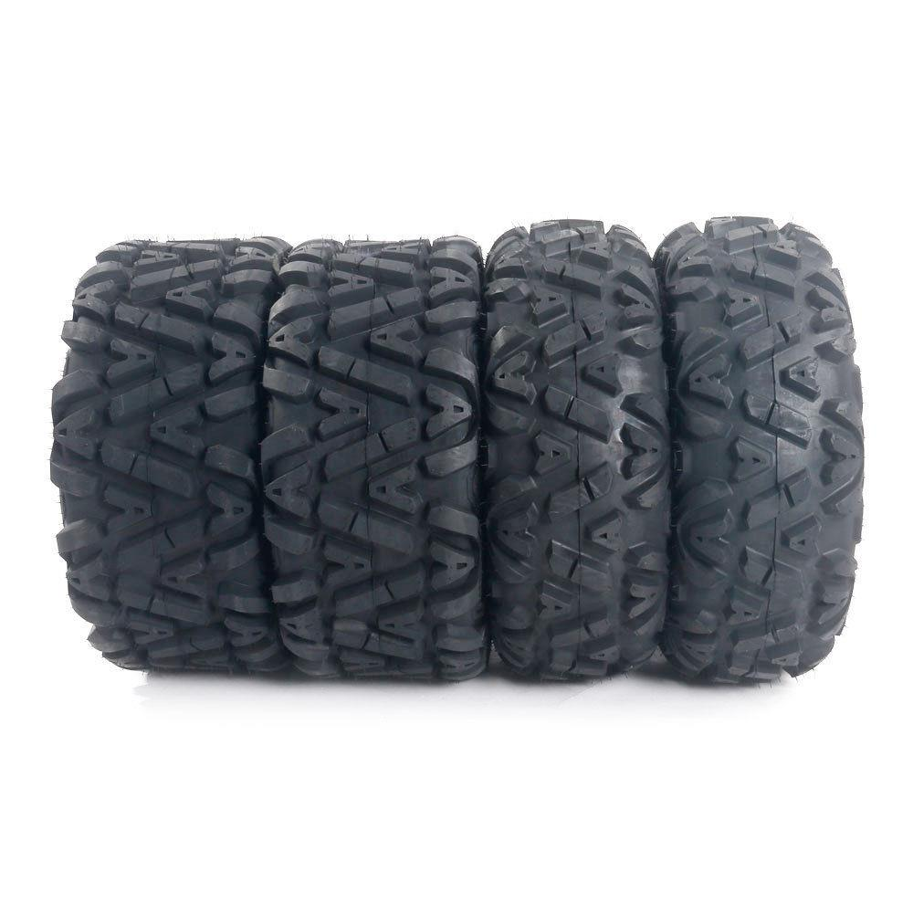Ktaxon 4* 26x9-12 26x11x12 6PR P373 LH & RH ATV Tires Factory Direct 26x9-12 26x11x12