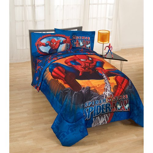 Marvel Spider Man Twin & Full Size Reversible Comforter Set, 1