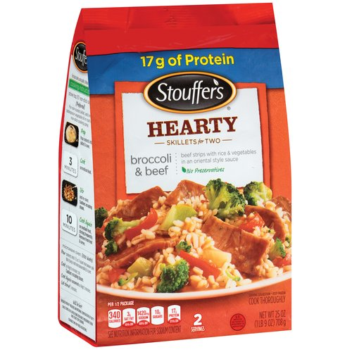 Stouffer's Hearty Skillets Broccoli & Beef, 25 oz