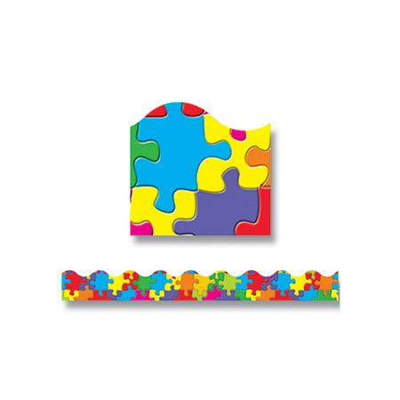 TREND enterprises, Inc. Jigsaw Terrific Trimmers  Classroom