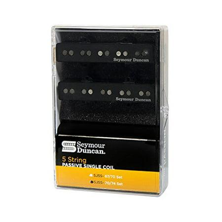 String Pickup Set - Seymour Duncan SJ5-S Set String Passive 70/74 Pickups NEW